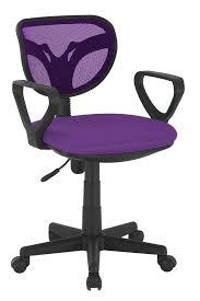 chaise de bureau violette chaise de bureau enfant design