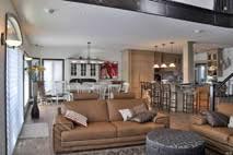 salon cuisine aire ouverte design intérieur la clef de sol