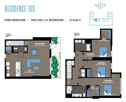 House Plans Com 120 187 Studio To Penthouse South Loop Apartments For Rent 1000 South