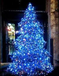 sketch of blue and white christmas lights interior design ideas