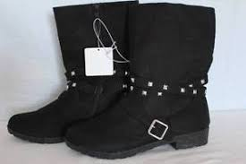 womens boots size 6 womens boots size 6 black zipper wrapped silver studs buckle