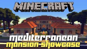 Mediterranean Style Mansions Minecraft Mediterranean Mansion On Pc W Shaders House Tours Of