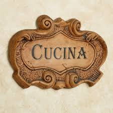 kitchen wall plaques cucina italian kitchen wall plaque