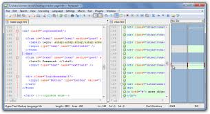compare two source codes and text files in notepad with compare