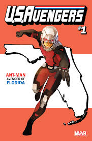 Florida State Flag Image Previewsworld Exclusive U S Avengers 1 State Variants Full U S