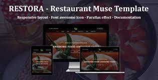 restora restaurant responsive muse template by awesomethemez