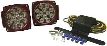 blazer led trailer lights amazon com blazer c5721 led square submersible trailer light kit