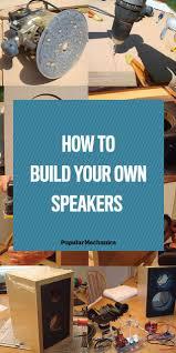 Diy Speaker Box Schematics Best 20 Diy Subwoofer Ideas On Pinterest Diy Speakers Diy