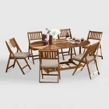 Gp Products Patio Furniture Outdoor Dining Furniture And Wood Table Sets World Market