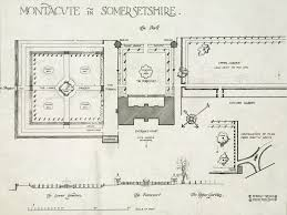 plans for montacute house park somersetshire cornell university