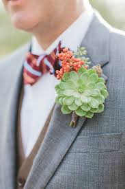 succulent boutonniere succulent boutonniere for the groom