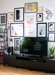How To Design A Gallery Wall by How To Plan And Hang A Gallery Wall Homey Oh My