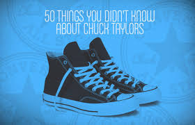 50 things you didn u0027t know about converse chuck taylor all stars