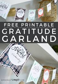 thanksgiving crafts free printable gratitude garland somewhat