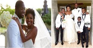 gabrielle union wedding dress wedding gabrielle union dwyane wade