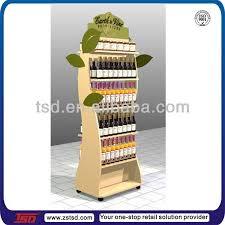 tsd w1104 retail shelving unit wine display fixture custom floor