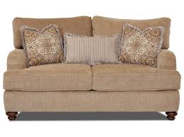 ls that hang over couch klaussner declan ok42200f ls traditional loveseat with english arms