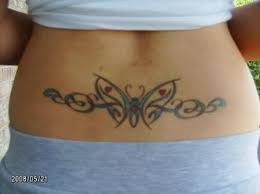 17 best lower back butterfly tribal tattoos images on pinterest