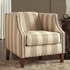 berwyn view quartz striped accent chair accent chairs living