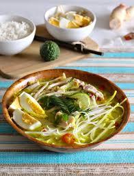 recettes de cuisine indon駸ienne balinaise soto ayam recette authentique indonésienne 196 flavors