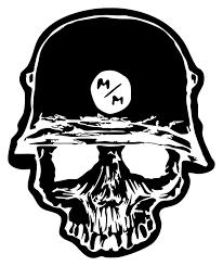 skull motocross helmet 2 u0027 large metal mulisha vinyl wall decal skull motocross racing