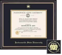 diploma framing diploma frames jacksonville state bookstore