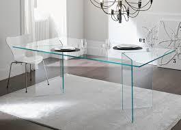 Tonelli Bacco Glass Dining Table Modern Glass Dining Tables - Modern glass dining room furniture