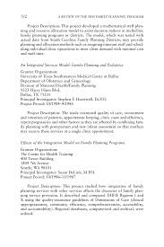 National Park Ranger Resume Appendix I Title X And Opa Funded Research A Review Of The Hhs