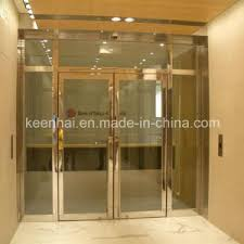 Steel Interior Security Doors China Interior Stainless Steel Glass Commercial Entry Security