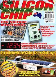 chip magazine silicon chip magazine 2009
