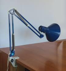 Small Blue Desk Lamp Vintage Anglepoise Blue Desk Lamp Architect Lamp Luxo Style