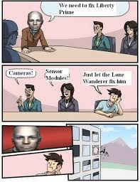 Liberty Prime Meme - liberty prime