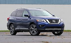 nissan pathfinder reviews 2017 2017 nissan pathfinder platinum awd u2013 review u2013 car and driver