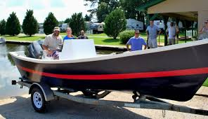 hatteras v bottom dory wooden boat plans scafi pinterest