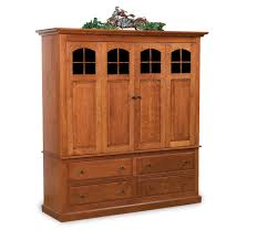 solid wood entertainment cabinet amish mission lcd cabinet entertainment center solid wood tv