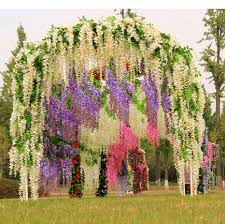 wedding arches decorated with flowers high quality artificial lavender bouquet provence wedding