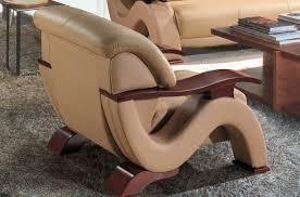canapé et fauteuil en cuir fauteuil 1 place en cuir supérieur luxe haut de gamme italien