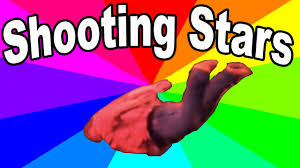 Star Meme - what is the shooting stars meme a look at the history and origin