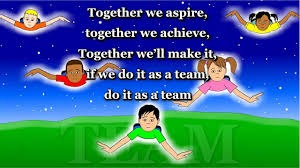 together we aspire teamwork animated song youtube