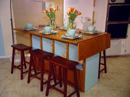 Extendable Bar Table Build A Bar Height Dining Table Hgtv