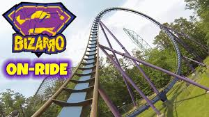 Six Flags New Jersery Bizarro On Ride Front Seat Hd Pov Six Flags Great Adventure
