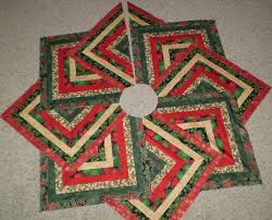 quilted christmas tree skirts u2013 happy holidays