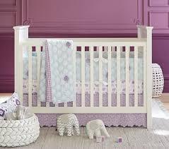 Pottery Barn Ruffle Crib Skirt Stella Nursery Quilt Bedding Set Toddler Quilt Crib Fitted Sheet