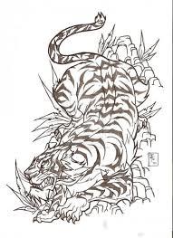 amazing japanese tiger design by nehemya
