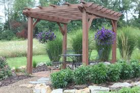pergolas arbors and garden structures building our farm by