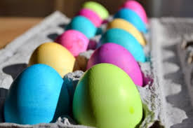 colored easter eggs and a duff giveaway stop lookin u0027 get cookin u0027