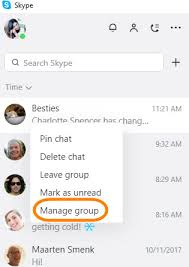 skype pour bureau comment gérer les conversations de groupe dans la nouvelle