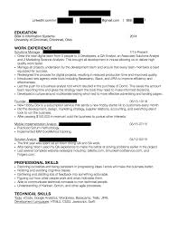 Best Qa Resume 2015 by Resumes