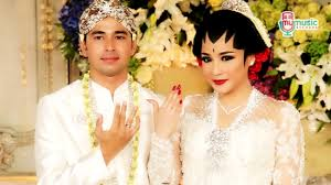 wedding dress nagita slavina pernikahan raffi ahmad nagita slavina di mv kamulah takdirku
