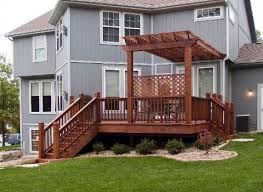 Deck Pergola Pictures by Cedar And Pressure Treated Deck And Pergola Pictures Built By All